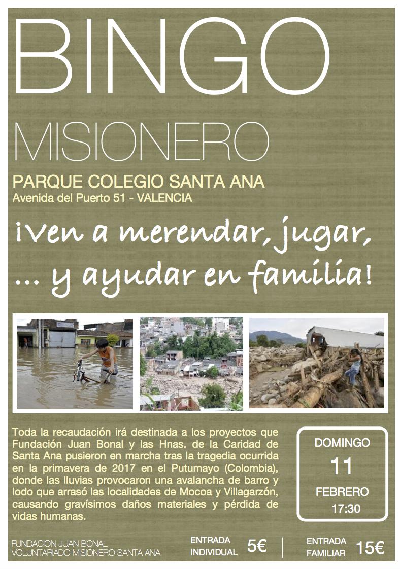 Bingo Fundación Juan Bonal