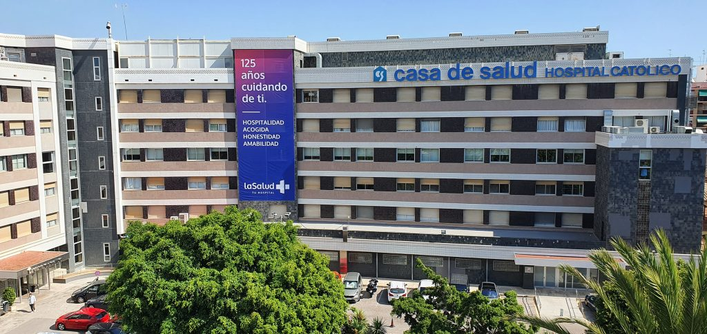 La Salud Hospital Fachada