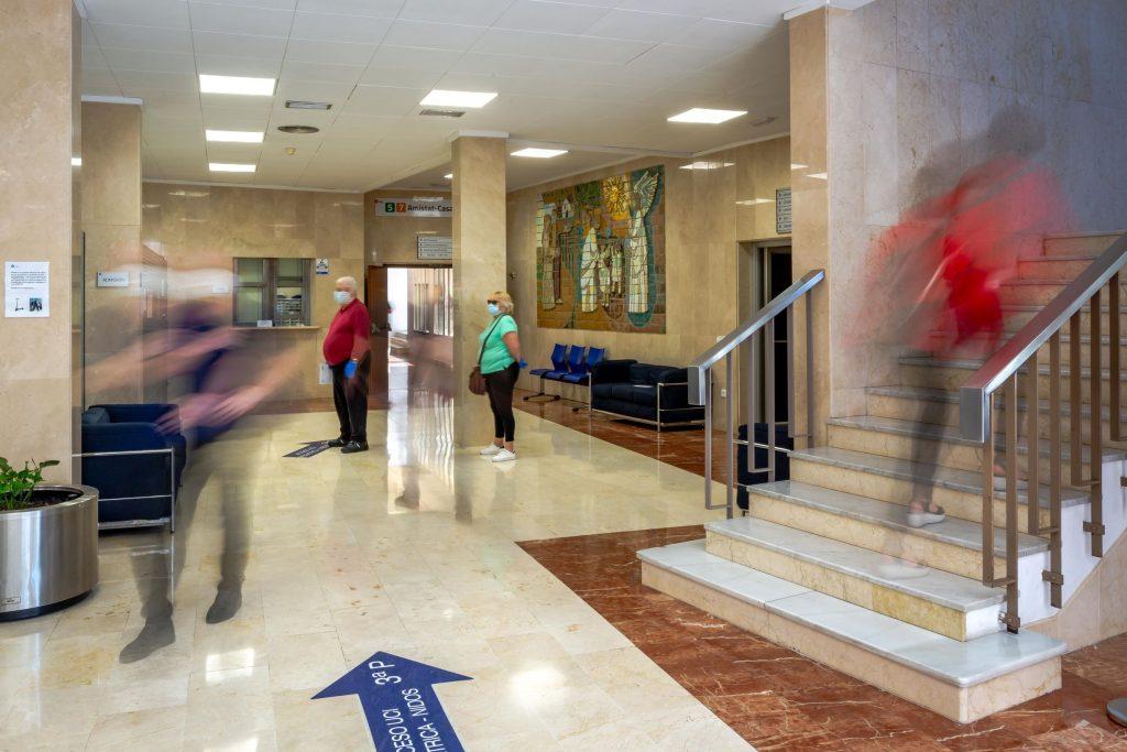 La Salud Hospital Hall principal