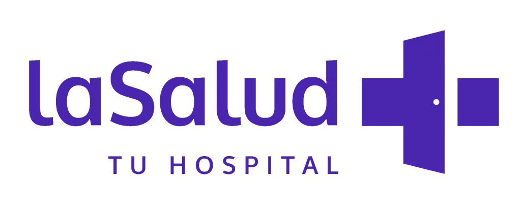 La Salud Hospital Logo Transparencia