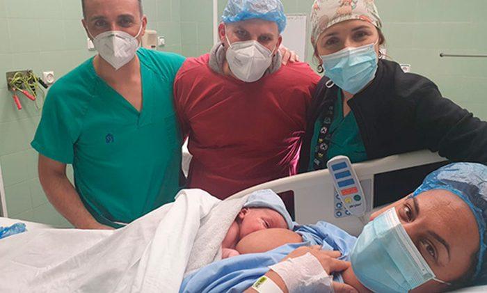 Mariam y Erik Maternity Room